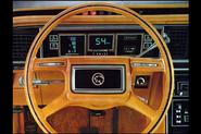 Following the interior design of American cars is akin to going on a styling roller coaster.