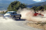 From television to the big screen, car chases are a staple of the movies.