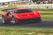 The latest one-off Ferrari has just had its UK debut at the Goodwood Festival of Speed.