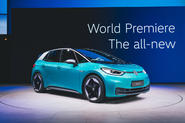 On Monday evening the new all-electric Volkswagen ID 3 was revealed on the eve of the Frankfurt motor show.