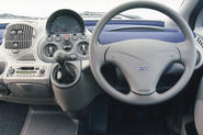 Making a car dramatic from the outside is relatively straightforward in comparison to concocting a madcap interior.