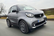 The second generation Smart Fortwo
