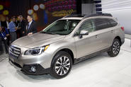 Subaru Outback gets New York debut