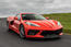 Corvette Stingray C8 2019 first drive review - hero front
