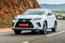 Lexus RS F-Sport 2019 front three quarters