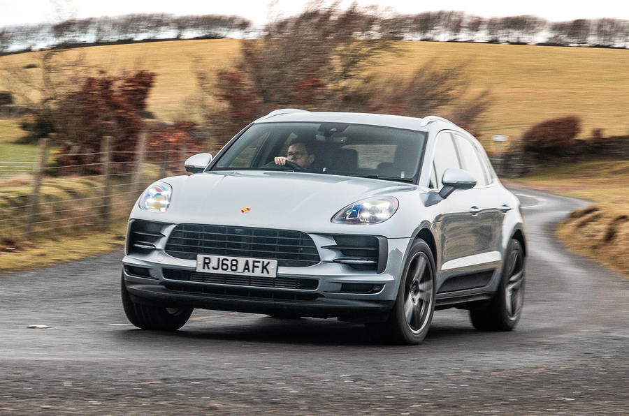 petrol porsche macan to continue alongside electric model in 2021
