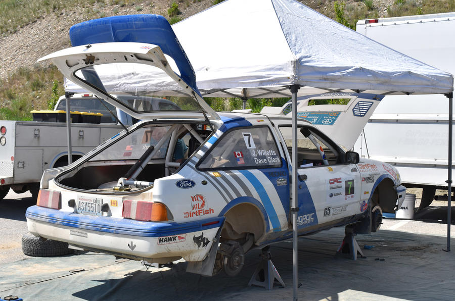 How Ecoboost power is keeping a Sierra XR4Ti rally car on the ...