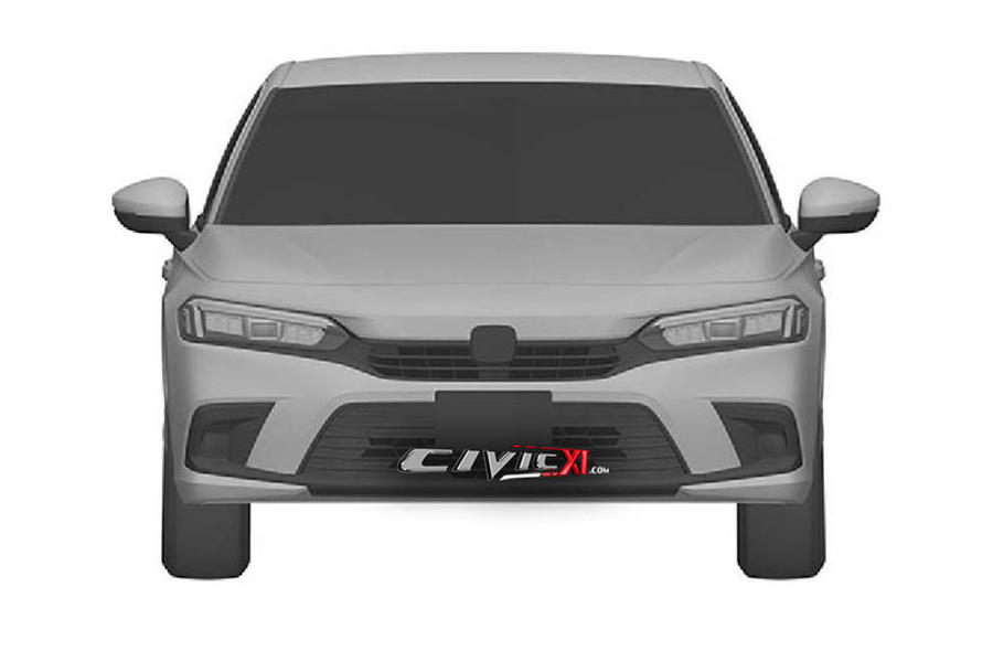 Next civic front view