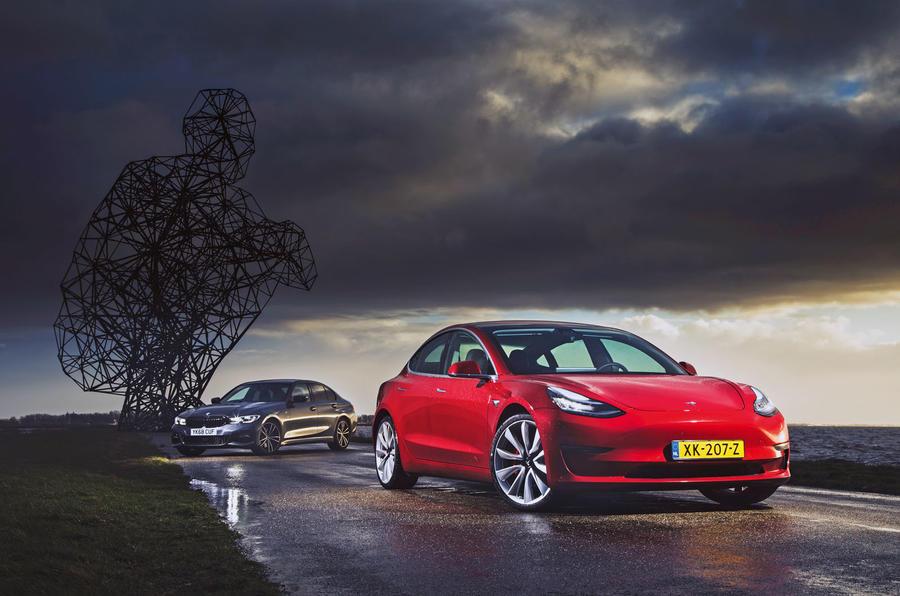 Épreuve de force berline: 2019 Tesla modèle 3 vs nouvelle BMW Série 3 1 luc static1a 0