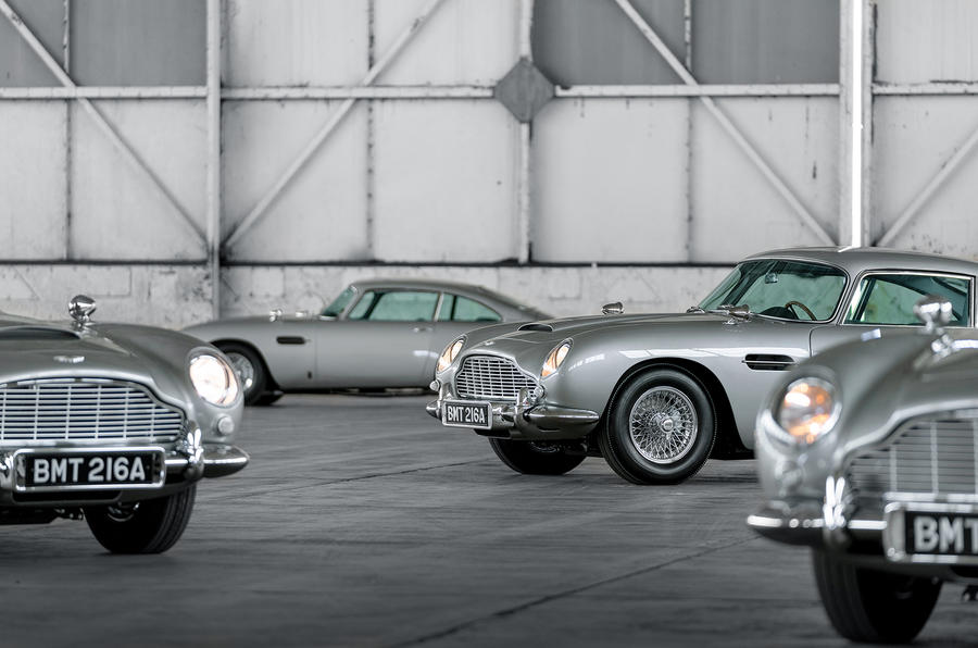 Aston Martin Db5 Goldfinger Deliveries Of 007 Themed Special Begin Autocar