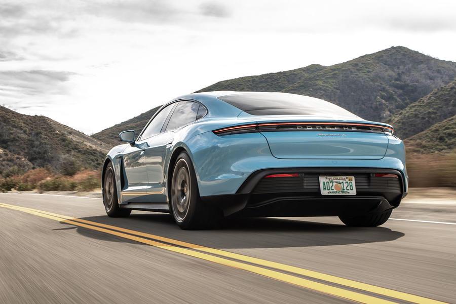 Porsche Taycan 4s 2020 Review Autocar