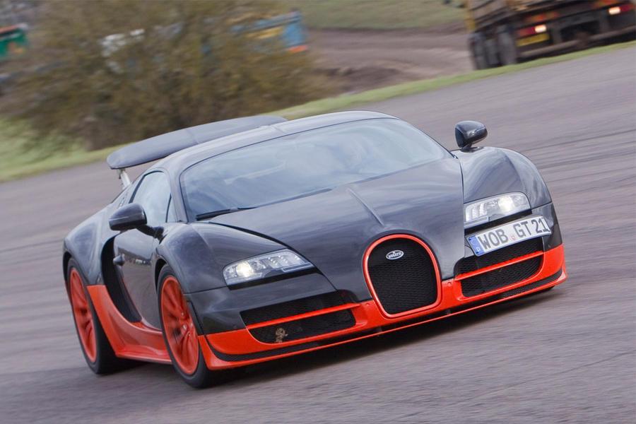 25 bugatti veyron ss