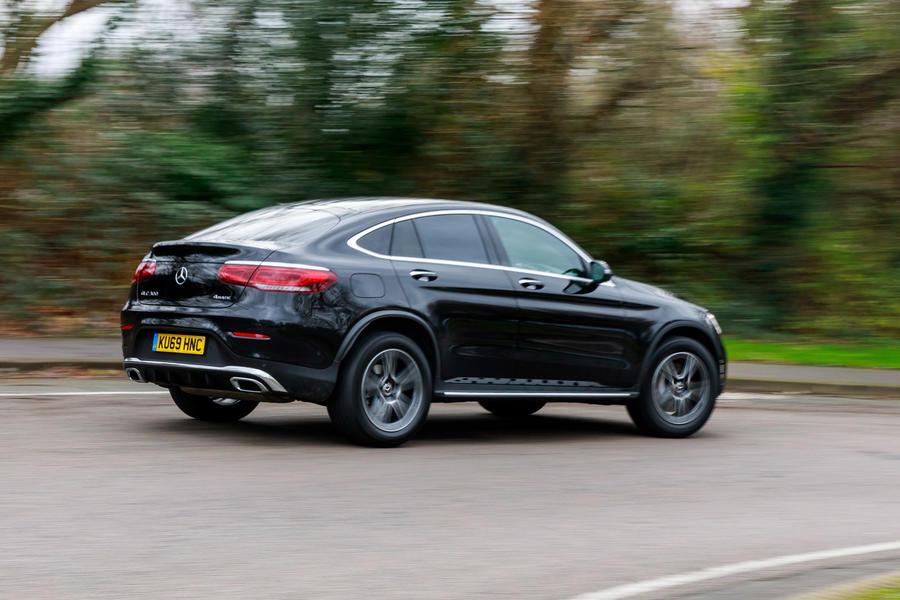 Mercedes-Benz GLC 300 Coupe 4Matic 2020 UK review   Autocar