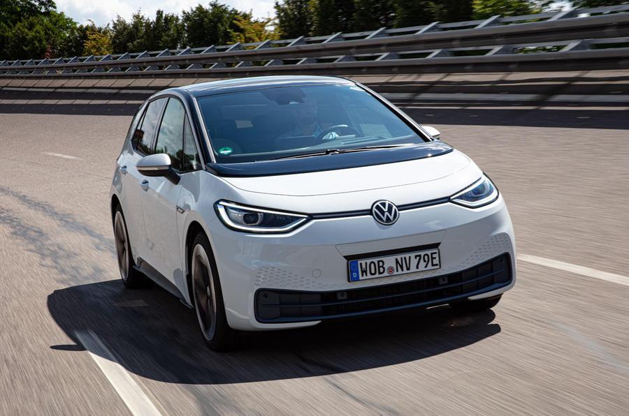 5 volkswagen id 3 white 2020 fd hero front