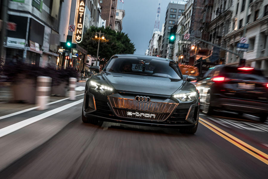 Audi E-tron GT concept 2018: first drive of electric ...
