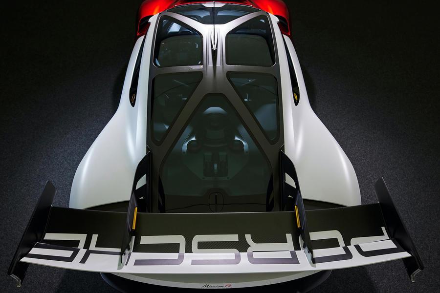 86 porsche mission r concept feature aerial