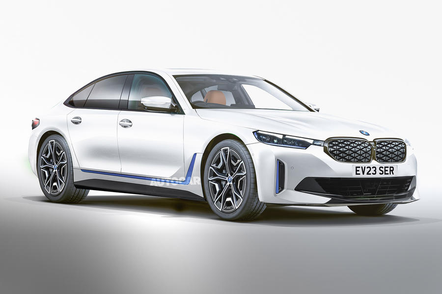 93 bmw 5 series 2023 electric render imagined autocar
