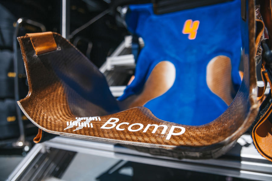 94 mclaren racing sustainability feature composites