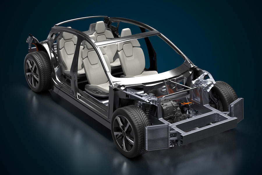 94 wae italdesign ev platform chassis