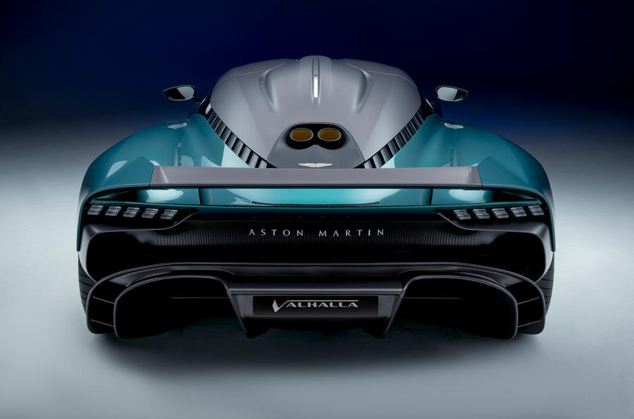 95 aston martin valhalla official reveal rear end 0