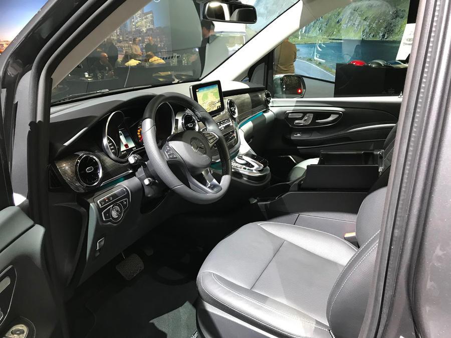 New 2019 Mercedes-Benz V-Class MPV gains more power   Autocar