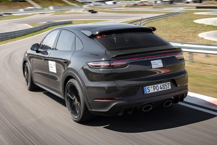 97 porsche cayene turbo coupe prototype 2022 hero rear