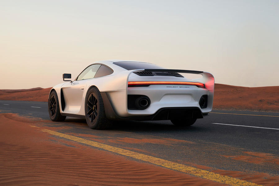98 gemballa marsien official reveal images rear
