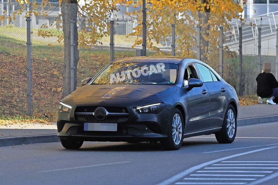 New 2019 Mercedes Benz Cla Teased Ahead Of Ces Reveal Website Of