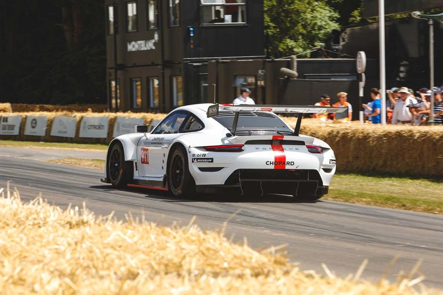 Porsche 911 RSR Debuts At Goodwood FoS Before Race Debut