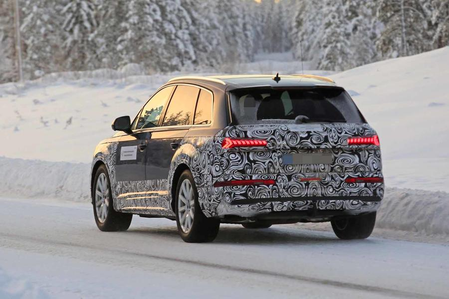 Audi Q7 2019 Facelift To Bring New Tech And Greater Efficiency Autocar