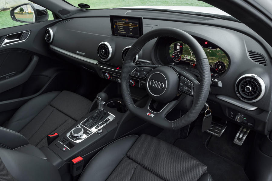 audi a3 sportback 1 5 tfsi 150 black edition s tronic 2018 review autocar. Black Bedroom Furniture Sets. Home Design Ideas