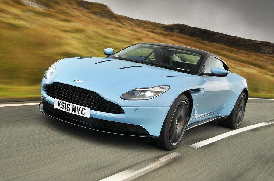 Top Best Super GTs Autocar - Aston martin two door