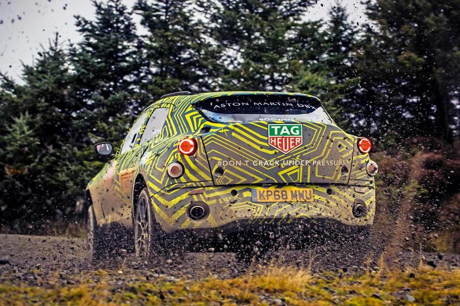 Aston Martin DBX shown in near-production form before 2019 launch