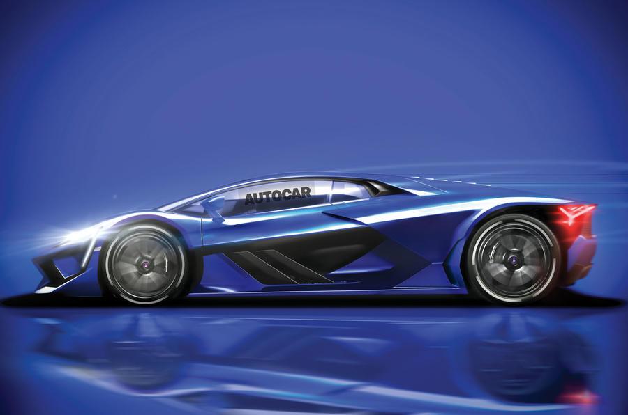 Next Aventador to be first hybrid V12 Lamborghini