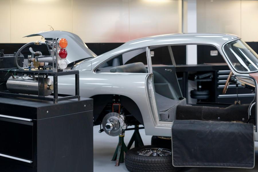 Aston Martin details James Bond-inspired DB5 continuation