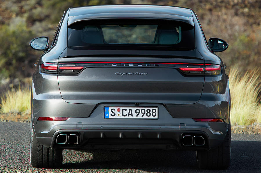 Porsche Cayenne Coupe new BMW X6 rival revealed