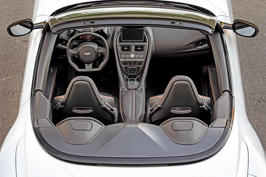 Aston Martin DBS Superleggera Volante is 211mph drop-top