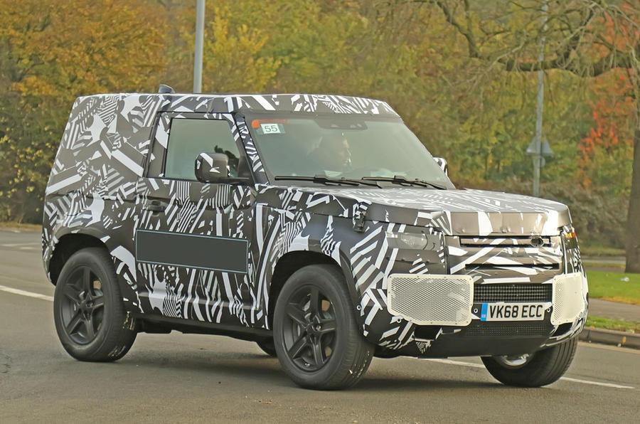 Reborn Land Rover Defender est essentiel au renouveau de l'entreprise en 2019 defender4