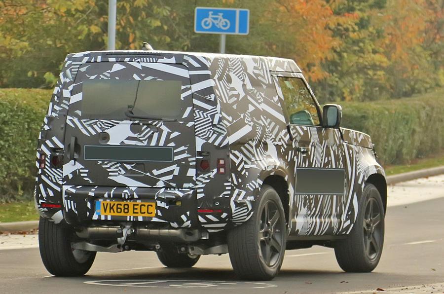 Reborn Land Rover Defender est essentiel au renouveau de l'entreprise en 2019 defender5