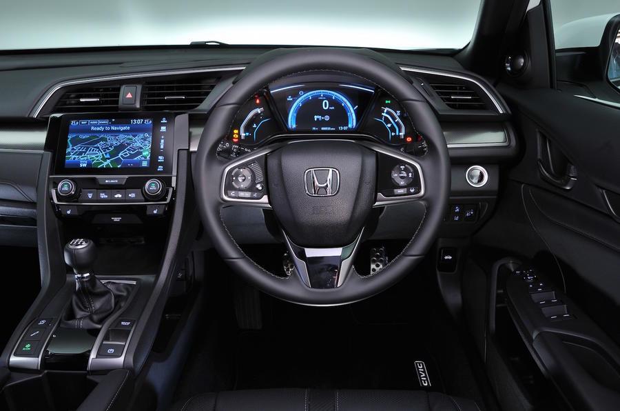 Honda Civic Ex 1 0 Turbo 2017 Review Autocar
