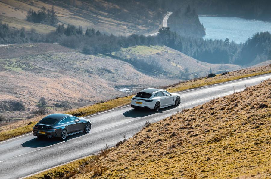 Twin test super-quatre places: Porsche Panamera vs Mercedes-AMG GT 63 dsc 0396 0