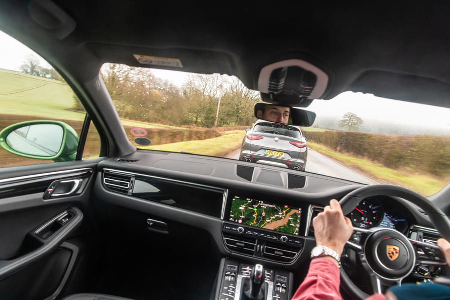 Diesel or petrol? Alfa Romeo Stelvio vs  Porsche Macan | Autocar