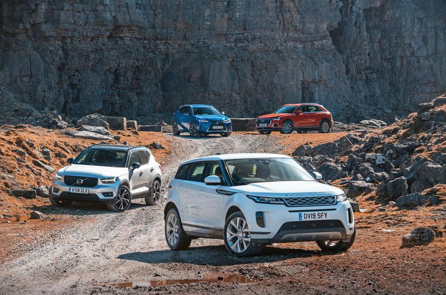 SUV showdown: Range Rover Evoque vs major rivals | Autocar
