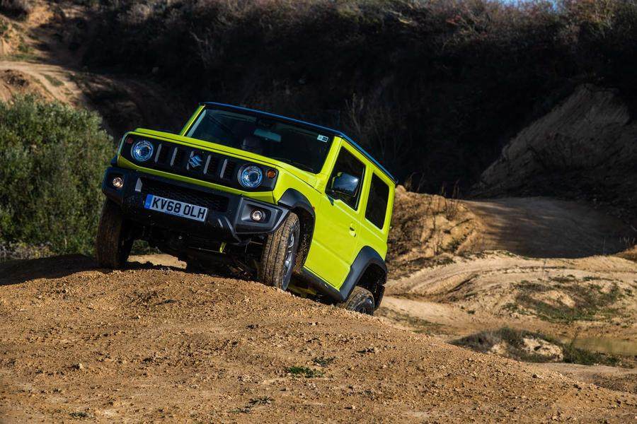 Suzuki Jimny Vs. Toyota Land Cruiser Off-road