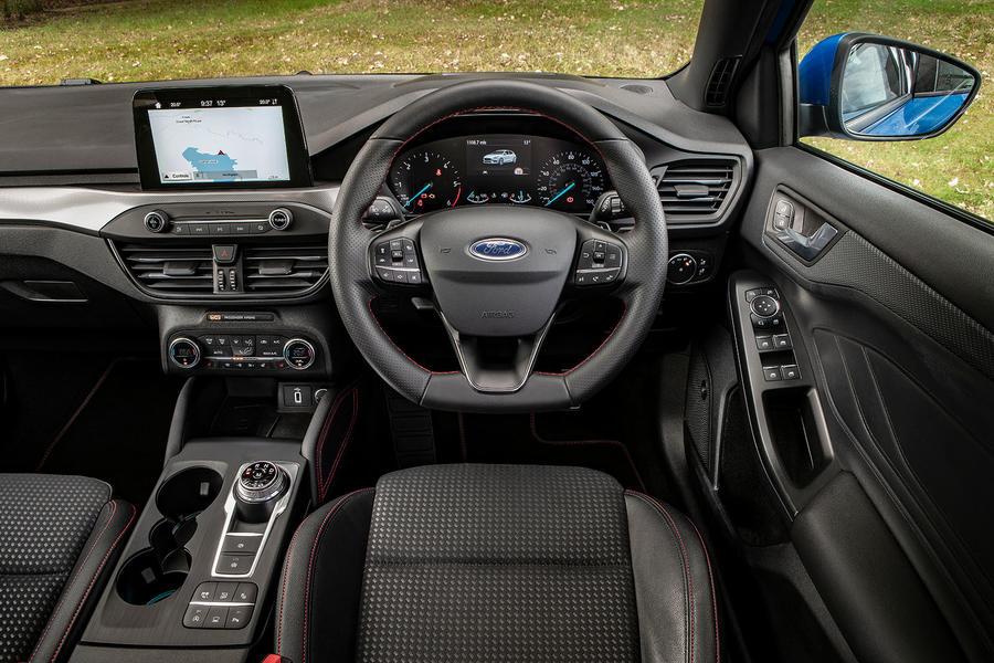Ford Focus St Line X 1 5 Tdci 2018 Uk Review Autocar