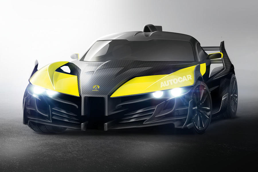 Ariel Unveils World Beating Supercar With At Lcv Event