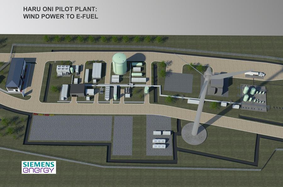 haru oni pilot plant 2020 porsche ag