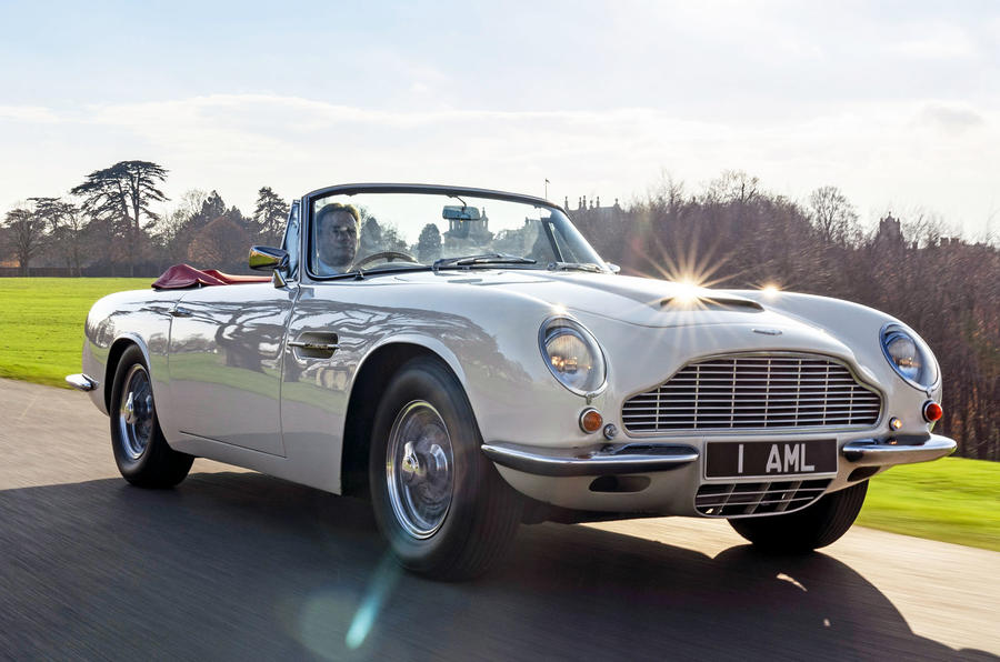 Aston Martin Offers Reversible Electric Conversion For Classic