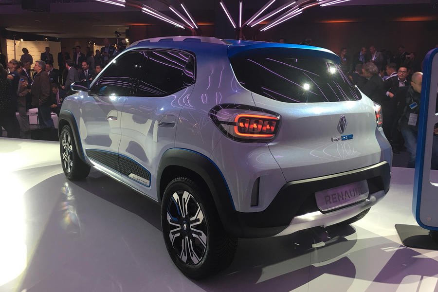 Renault reveals value K-Ze electric car