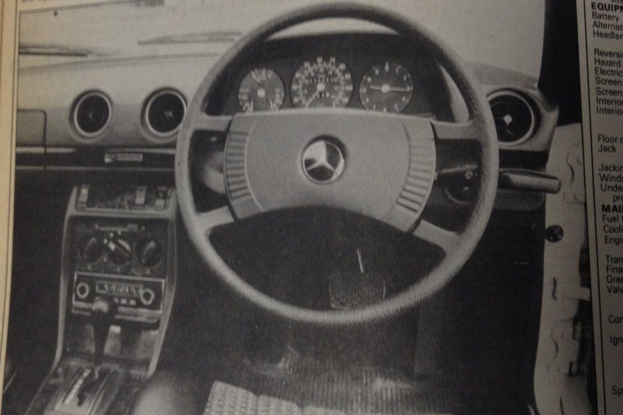 Throwback Thursday: 1977 Mercedes-Benz 230C road test | Autocar